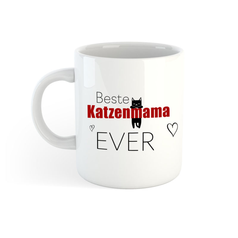 Tasse Beste Katzenmama Ever Best Cat Mom