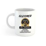 Tasse zum 50ten Geburtstag