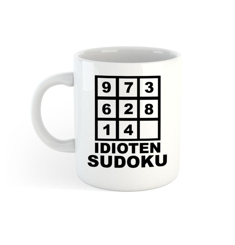 Sudoku Tasse